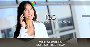 Cinellax Website Design Gledswood Hills NSW, Parallax, website design Gledswood Hills NSW, web development